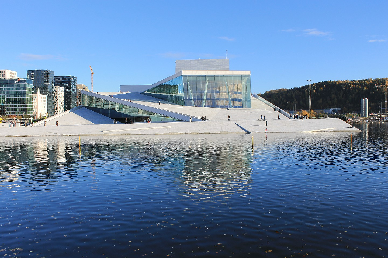 Operaen Fotoalbum Bilder Av Operahuset I Oslo