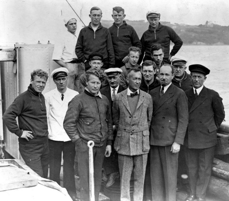Members of the Ellsworth Expedition ca. 1933